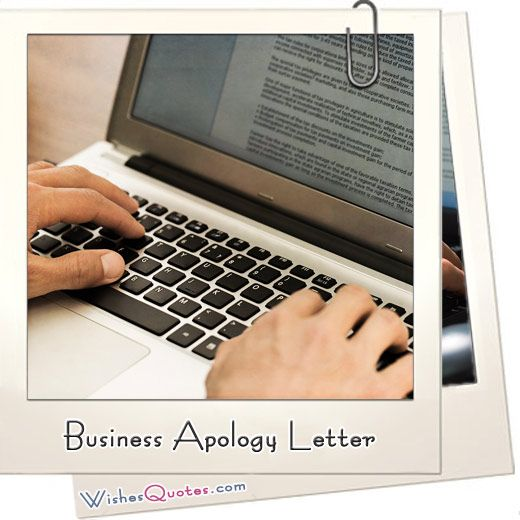 Business Apology Letter Samples - Making the Business Apology - business apology letter sample