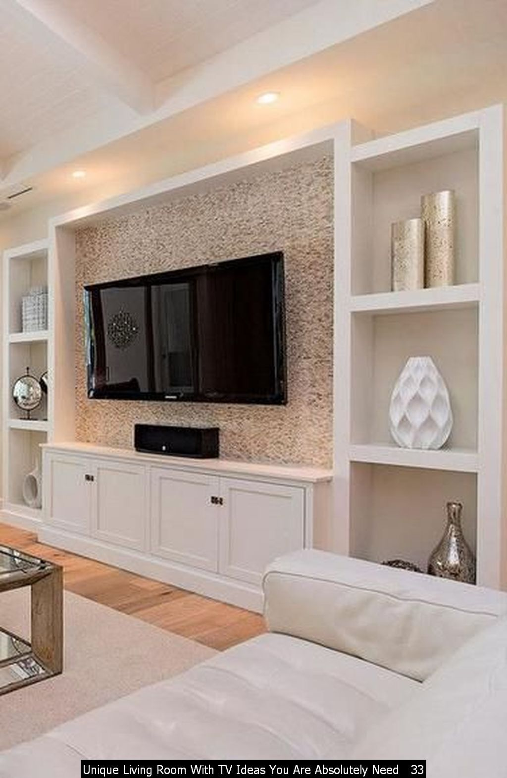 48 Unique Living Room With Tv Ideas You Are Absolutely Need Trenduhome Built In Wall Units Wall Unit Cheap Living Room Decor