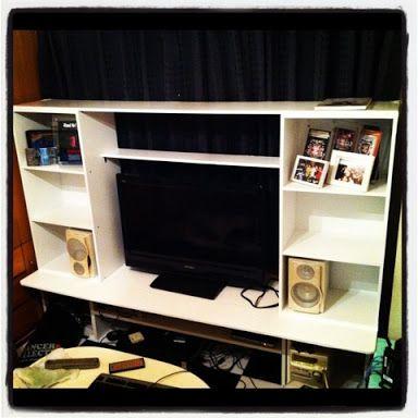 台 カラー ボックス テレビ