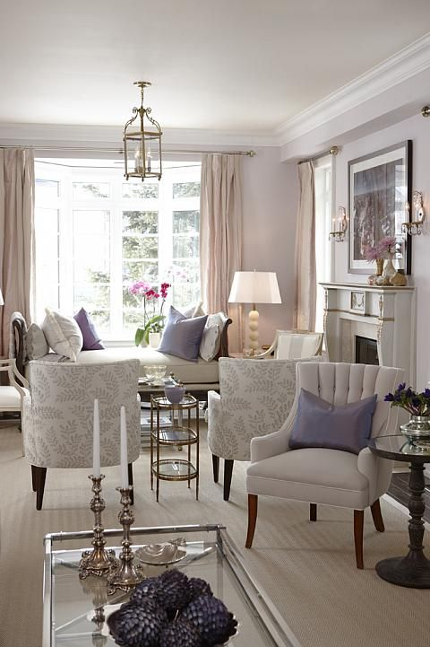 50 luxury living room ideas living rooms lavender and room for Mauve living room decor