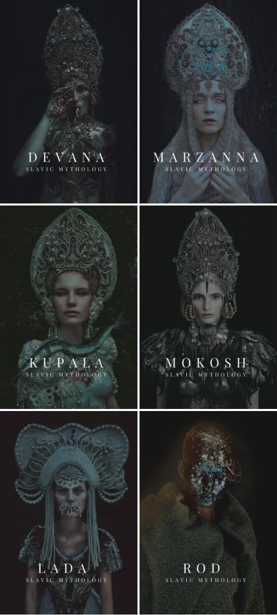 major slavic gods and goddesses | devana / marzanna / kupala / mokosh / lada / rod