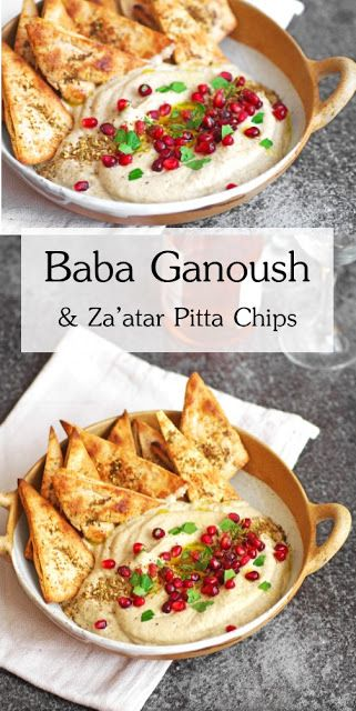 Baba Ganoush & Za'atar Pitta Chips