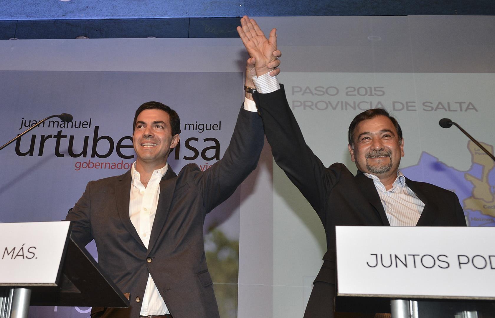 """Juan Manuel Urtubey festejó el triunfo en las PASO : """"En Salta no se vuelve atrás, en Salta hay futuro para todos"""""""