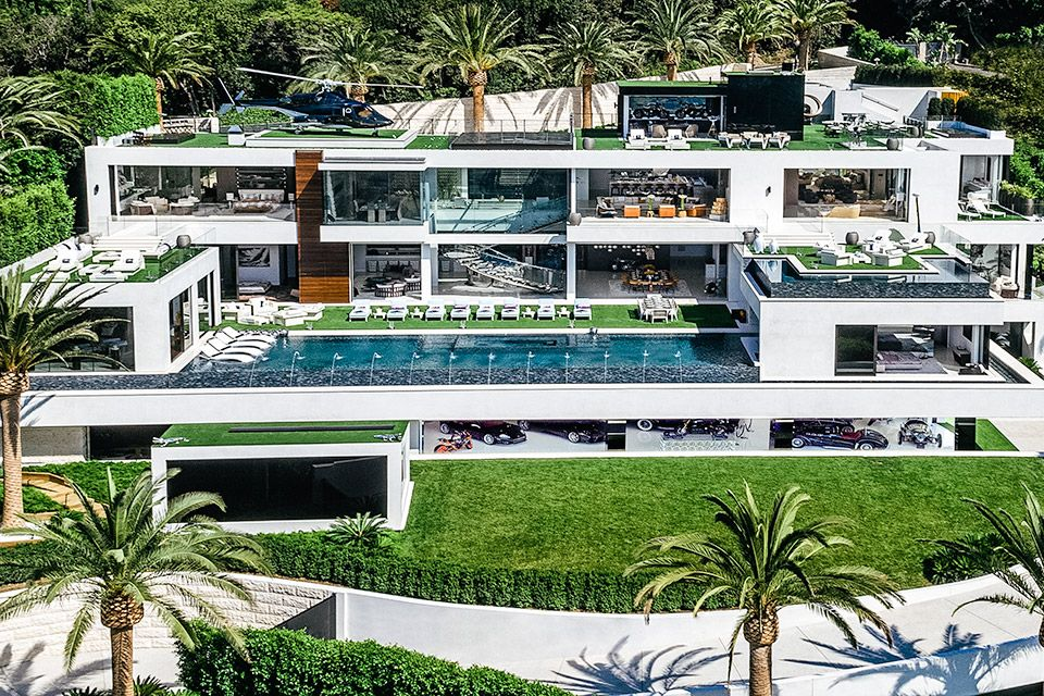 Bel Air Mansion With Car Collection Houses In America Expensive Houses Bel Air Mansion
