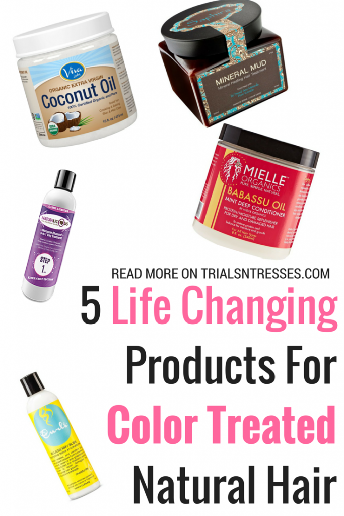 5 Life Changing Products For Color Treated Natural Hair Kinks