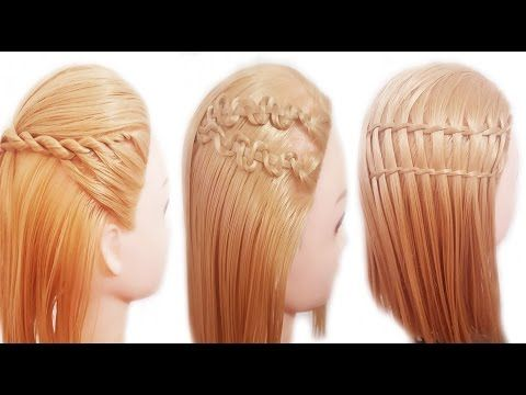 peinados faciles y rapidos y bonitos con trenzas para pelo chino para graduacion https