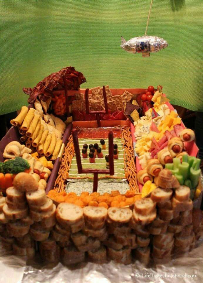 FOOTBALL THEMED PARTY FOOD