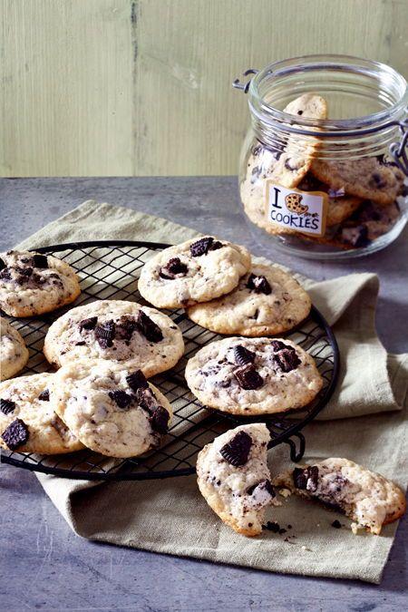 Oreo-Cheesecake-Cookies Rezept