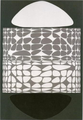 Meandres Belle-Isle - Victor Vasarely