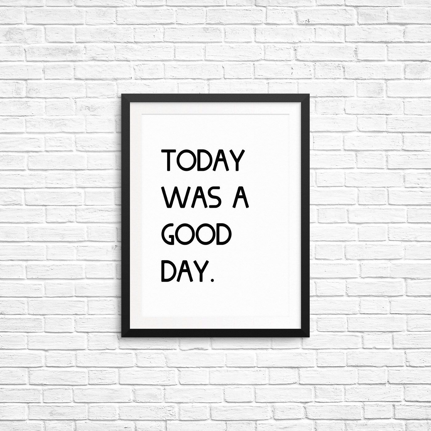 Ice Cube Song List Awesome today was a good day quote, ice cube song lyrics, typography print