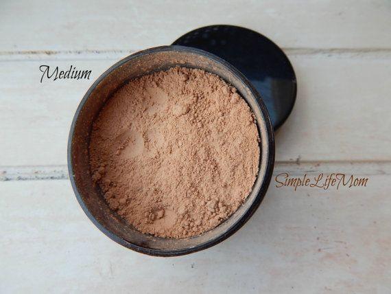 NATURAL FOUNDATION POWDER - Loose, organic, clay mineral foundation, no titanium dioxide!