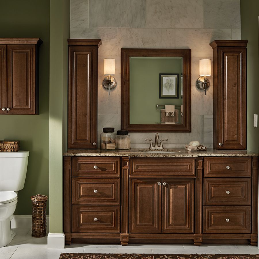 Villa Bath Lowes With Images Bathroom Wall Cabinets Bathroom