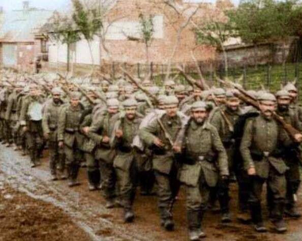 Deutsche Infanterie, 1. Weltkrieg