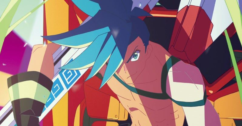 I didnt know kamina was a firefighter new animation