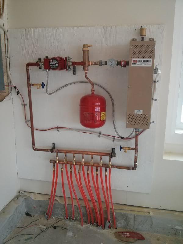 Heated Floor Exchanger Heating And