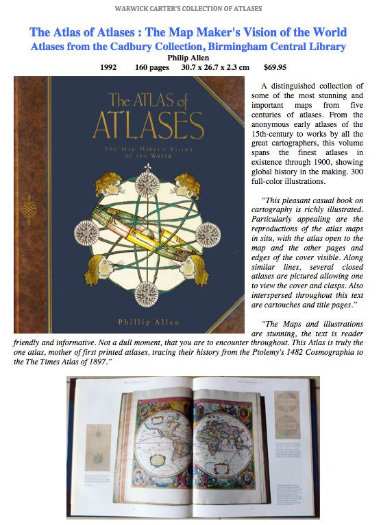 The atlas of atlases the map makers vision of the world atlas the atlas of atlases the map makers vision of the world gumiabroncs Choice Image