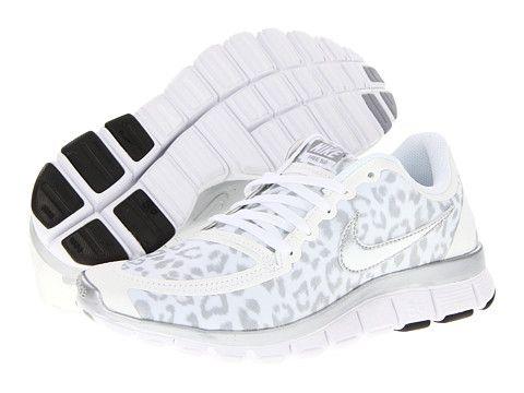 Nike Free 5.0 V4 Neutral Grey/White/Anthracite/White - Zappos.com