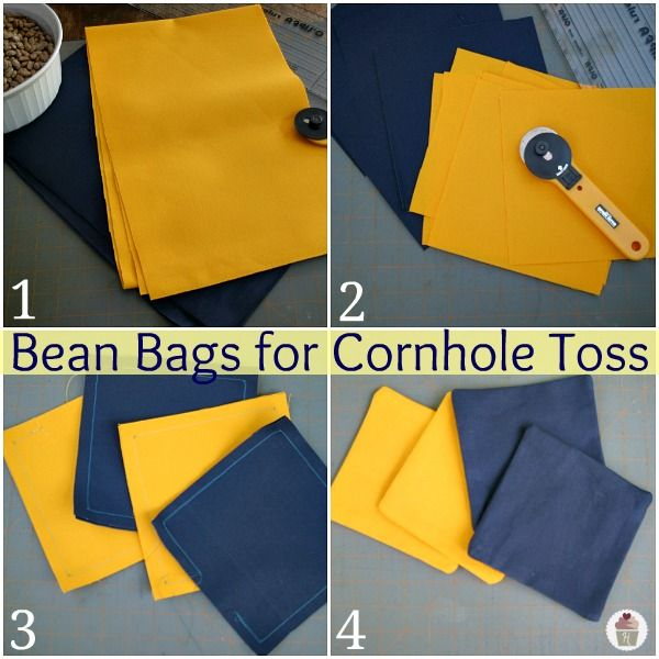 How To Make Bean Bags Diy Bag