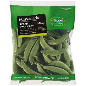 Marketside Sugar Snap Peas 8oz Walmart Com Sugar Snap Peas Snap Peas Peas