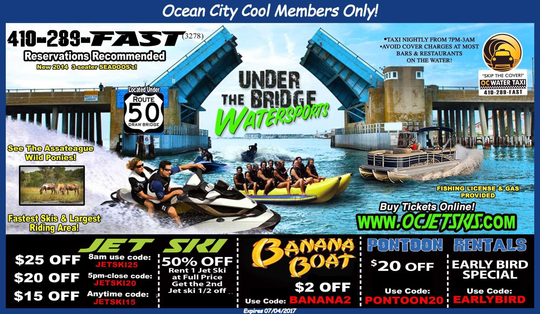 Members Only Cool Coupons Ocean City Ocean City Md Ocean City Maryland
