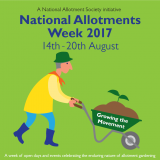 National Allotments Week 2017 – 14 to 20 August – The National Allotment Society – National Society of Allotment and Leisure Gardeners Ltd