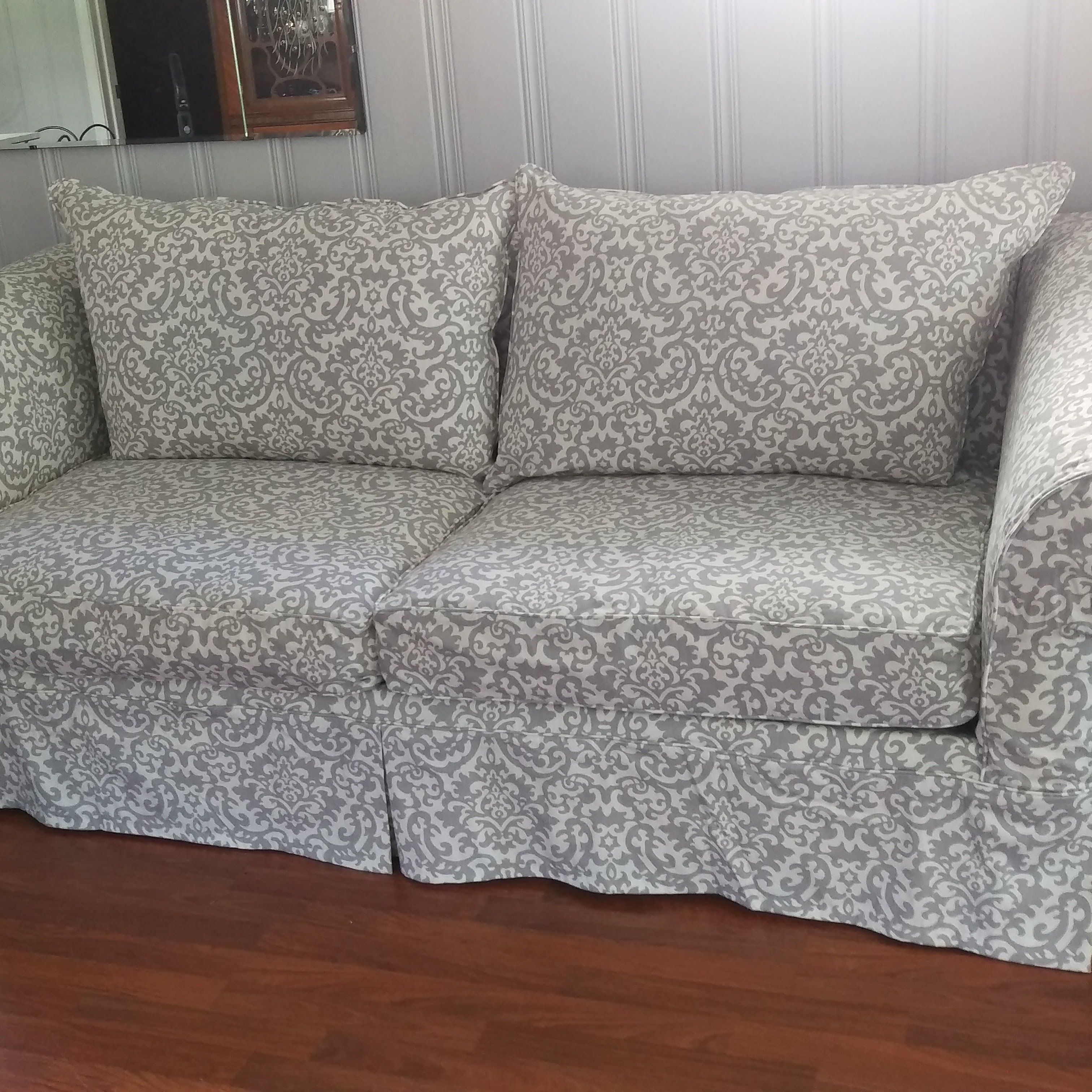 Custom Furniture Slipcovers: Soft And Completely Washable Custom Slipcover