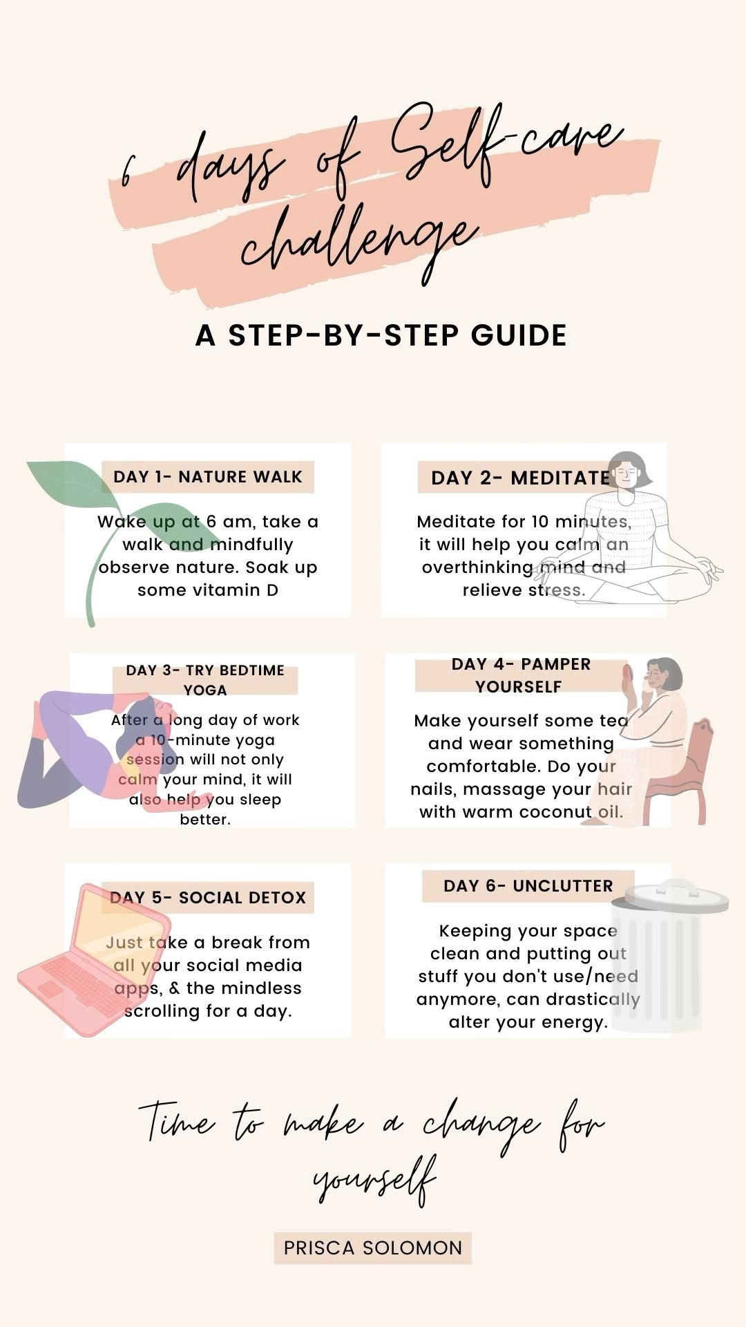Self-care is a daily practice