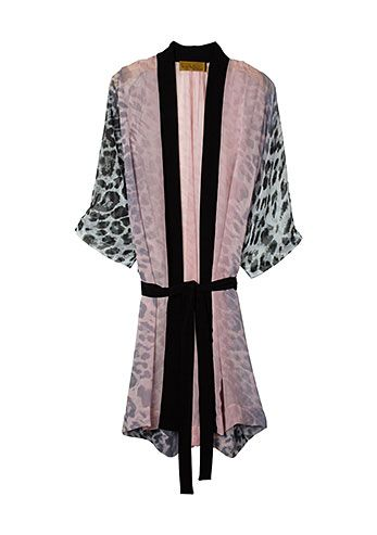 Leopard Robe.