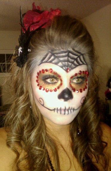 DIY Halloween Makeup : Sugar Skull MakeUp