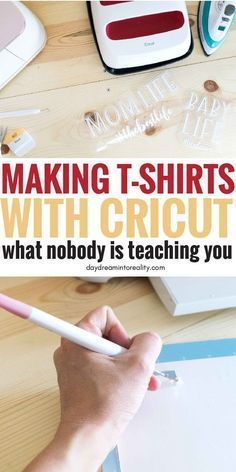 How to make T-Shirts with your Cricut Using Iron On #cricutvinylprojects