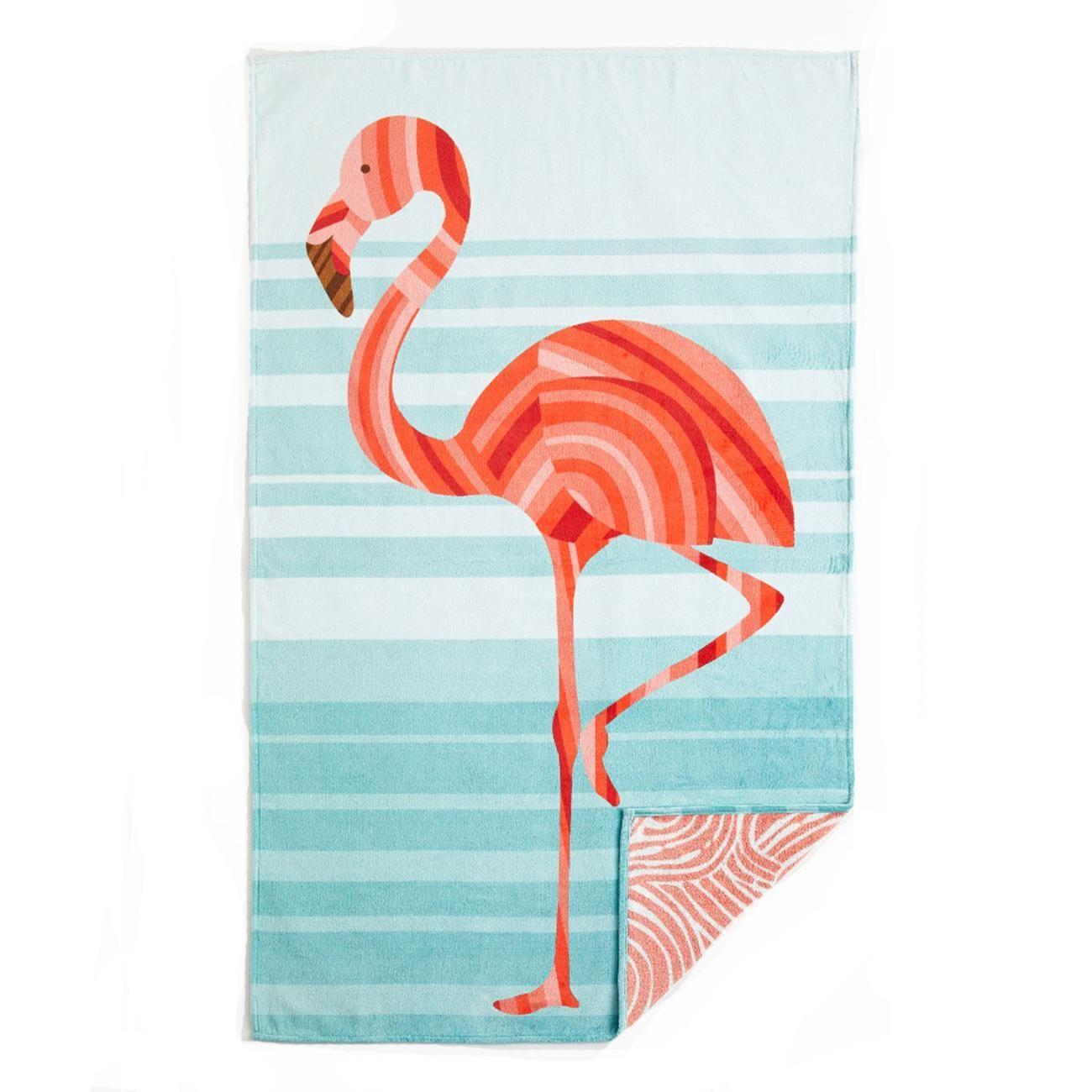 Accessoire Salle De Bain Flamant Rose ~ 15 accessoires pour la plage t serviettedeplage flamantrose