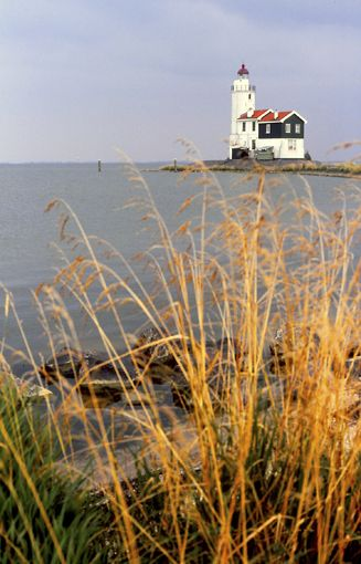 The lighthouse of Marken, The Netherlands