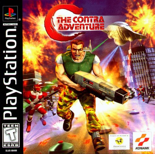 Complete The Contra Adventure Ps1 Game In 2020 Classic Video