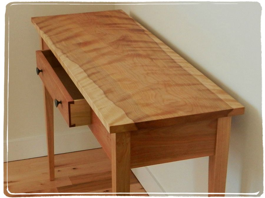 The Art of the Console Table Wood tables Wood projects and Shaker