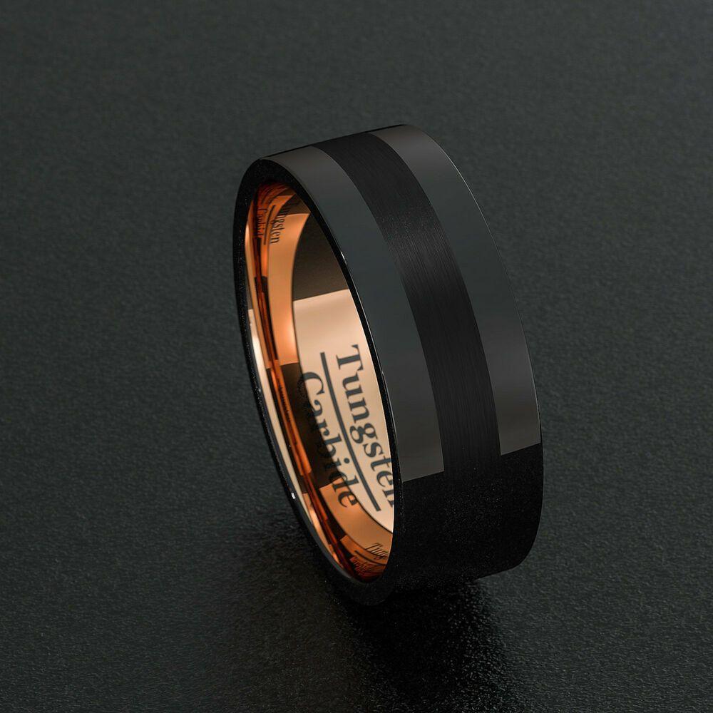 Bridal Titanium Flat 8mm Polished Band