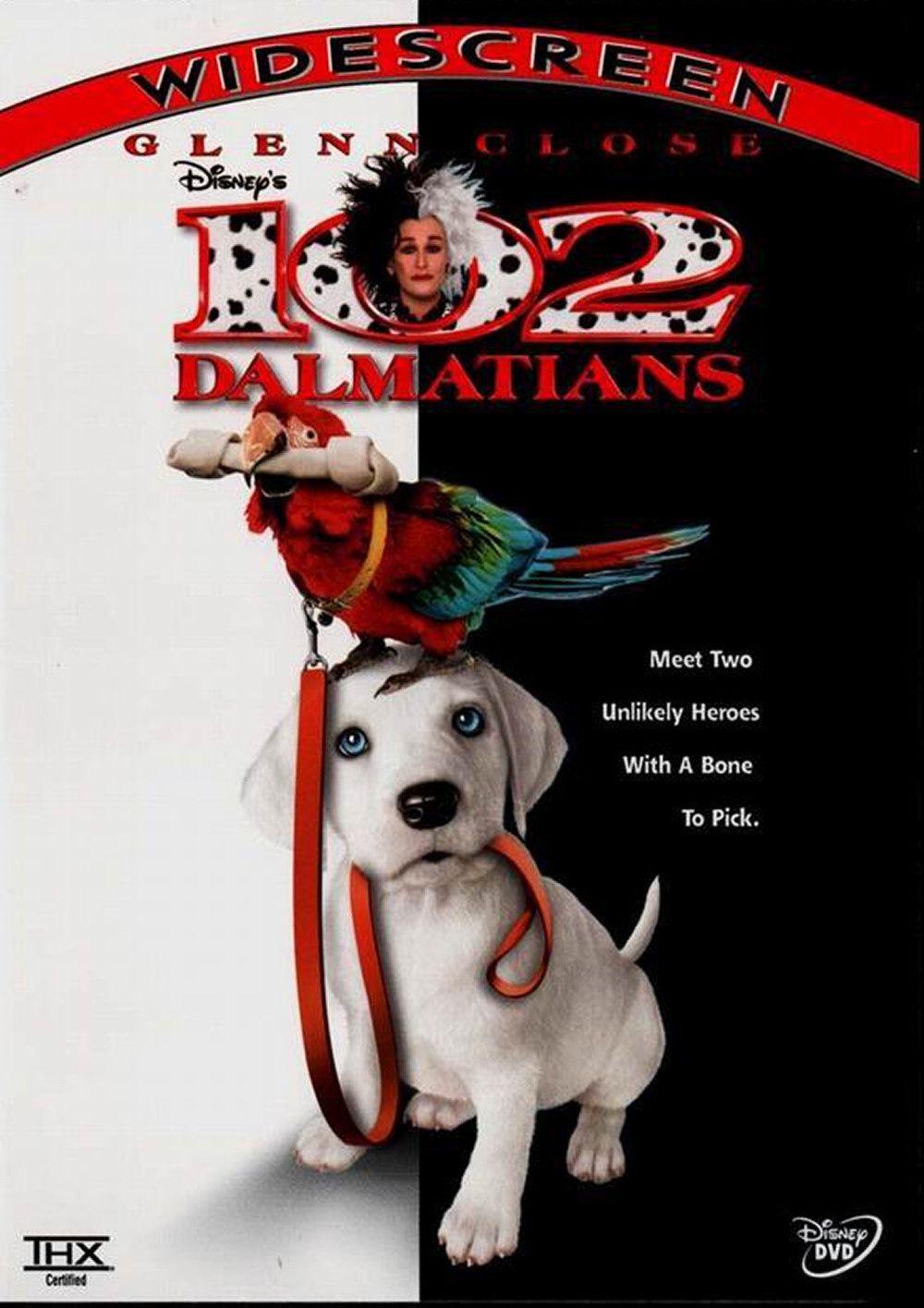 Poster For The Movie 102 Dalmatians Walt Disney Movies Kids