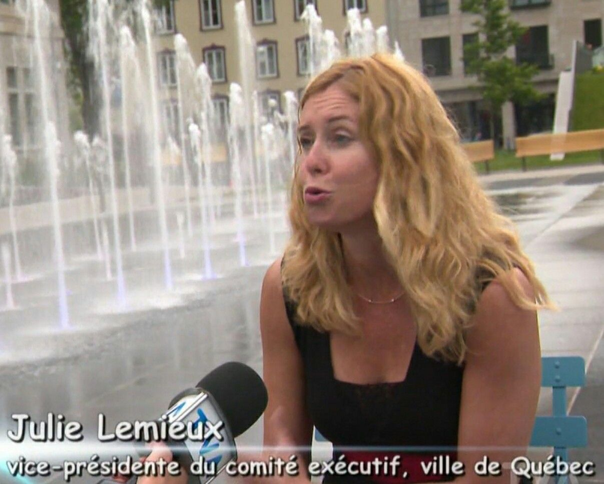 Watch Julie Lemieux video