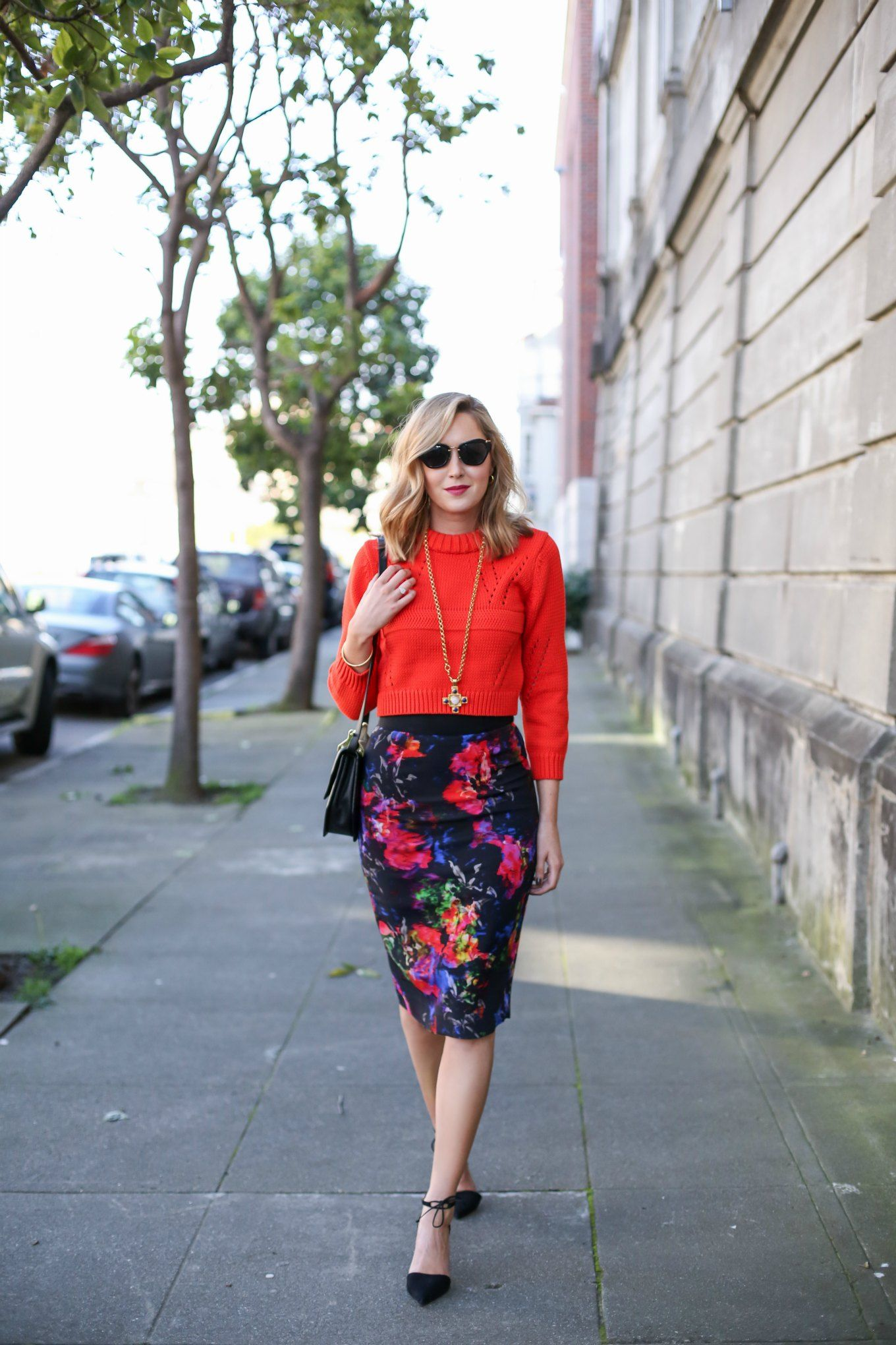 b76e6b5f99 5 Work Outfit Ideas for Spring in 2019 | Working attire | Floral ...