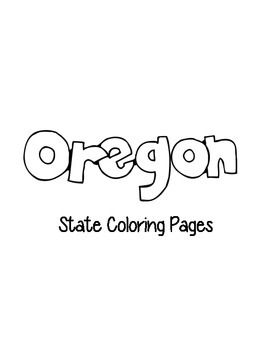 oregon state coloring pages
