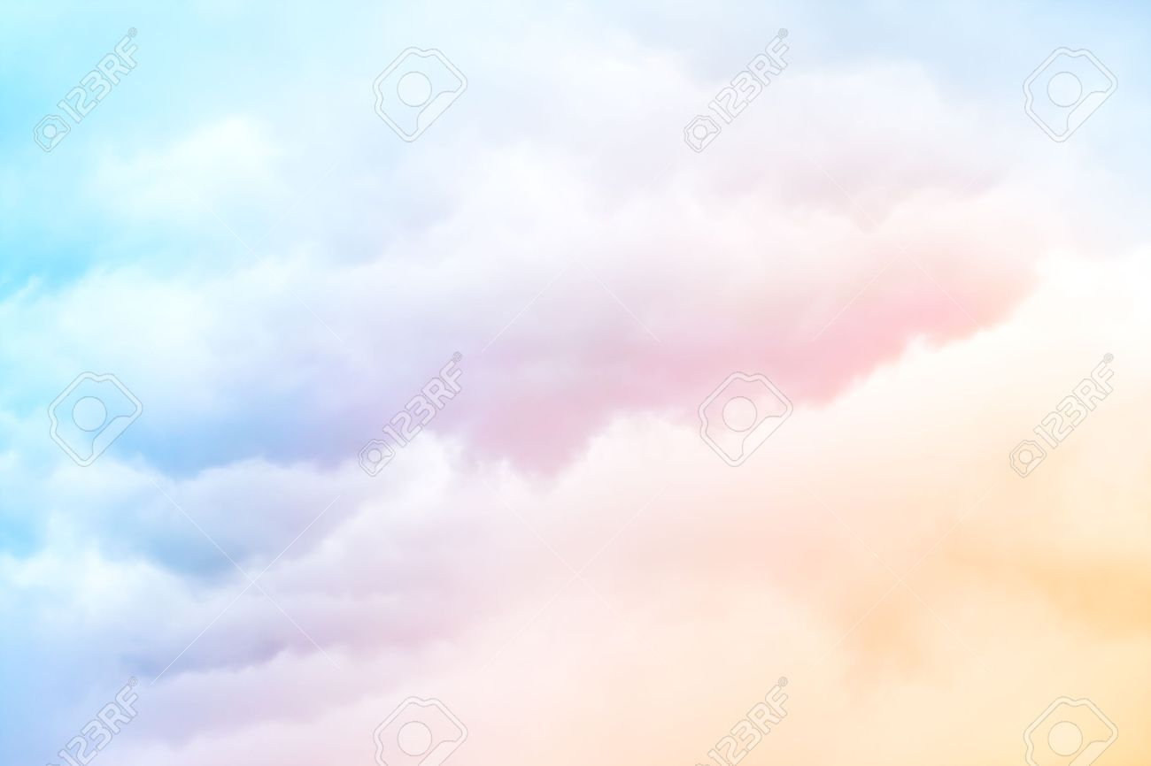 blue cloud with rainbow wallpaper - photo #11