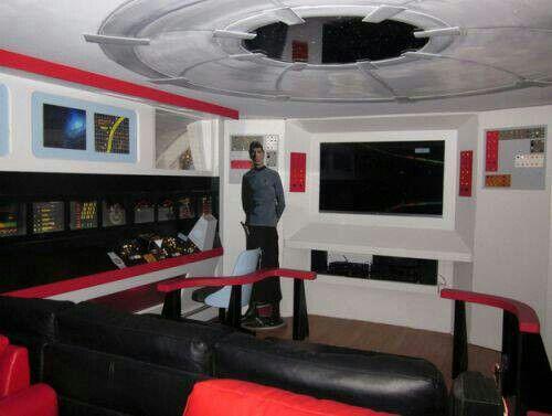 Star Trek Living Room Theatre Interior Star Trek House