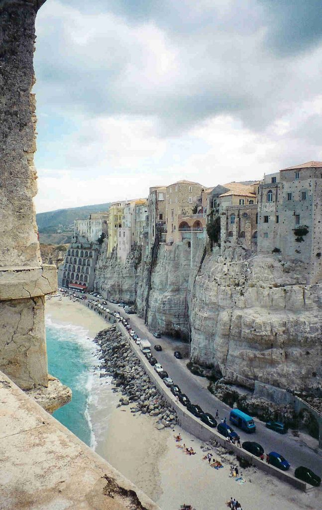Tropea Is A Lovely Seaside Resort Town Situated On A Reef In