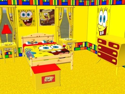 Room Complete Spongebob Bedroom Set