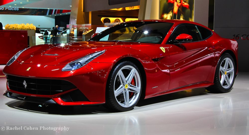 Photo 2013 Red Ferrari By Rachel Cohen