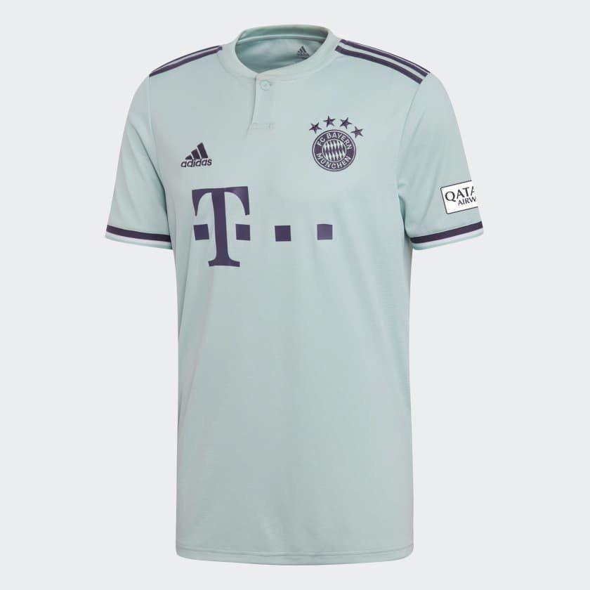 5d72e44cd adidas FC Bayern Munich Official 2018 2019 Away Soccer Football Jersey (eBay  Link)