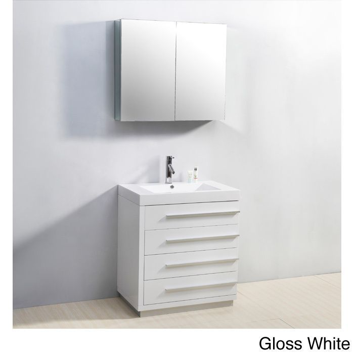 Photo Gallery Website Virtu USA Bailey inch Single sink Bathroom Vanity Set by VIRTU USA Satin Hardware and The o ujays