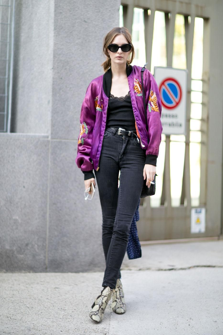 Fall & Winter Outfit Ideas from the Best Model Off-Duty Street Style | @StyleCaster