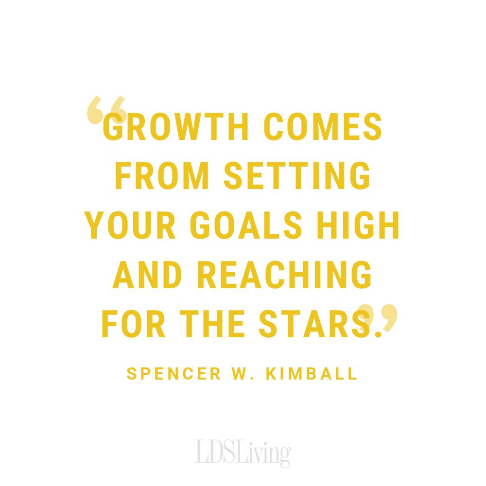 Growth Comes From Setting Your Goals High And Reaching Fr The Stars New Life Quotes Good Leadership Quotes Being Used Quotes