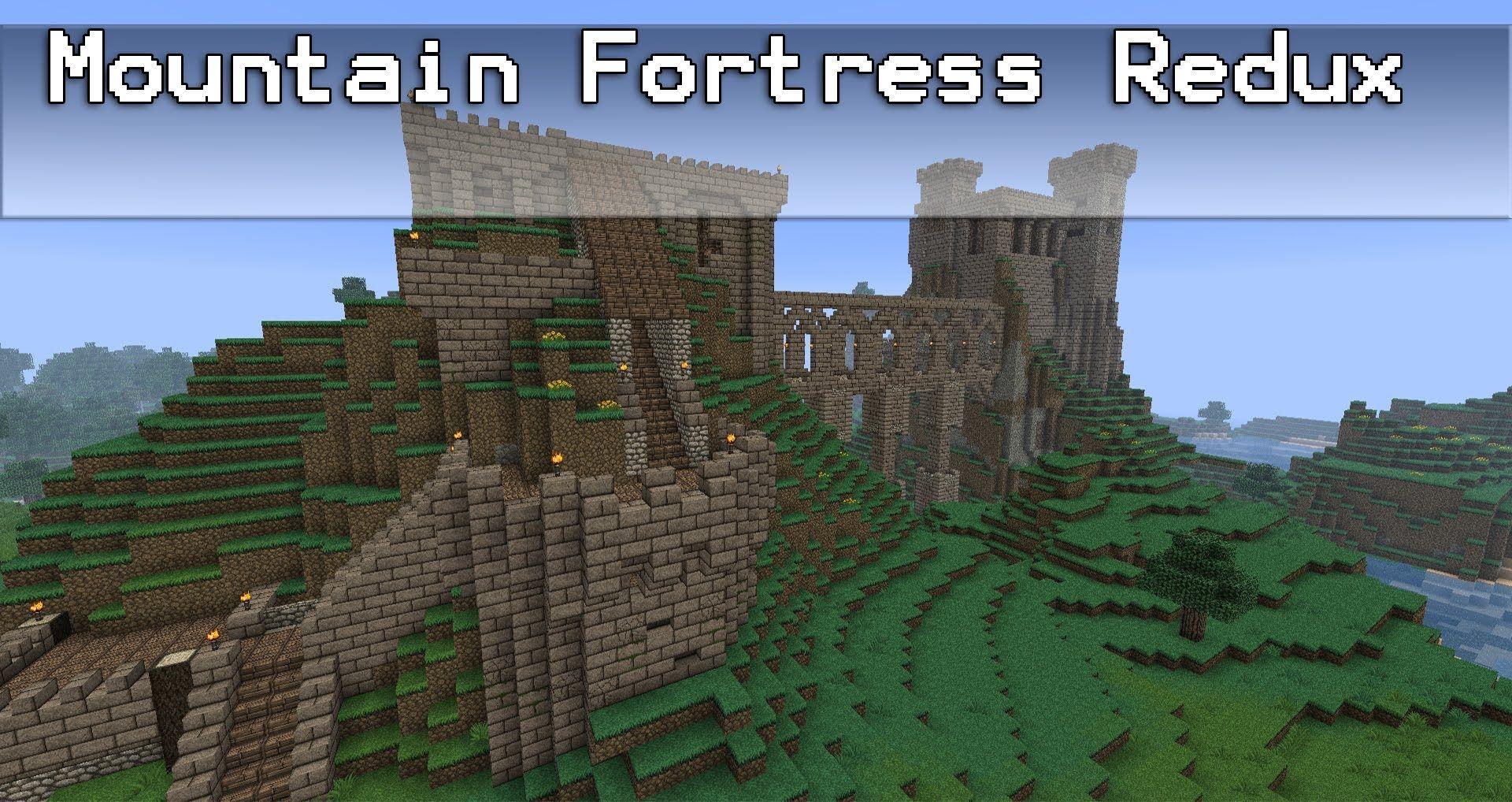 minecraft mountain castle ideas - google search | minecraft gaming