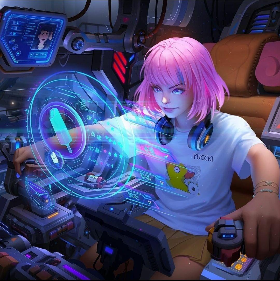 Girl pinterest gamer anime 24 Best